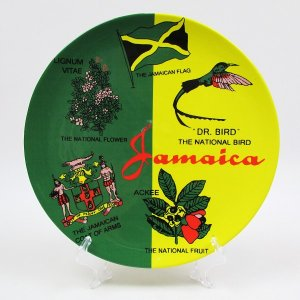 【JAMAICA GOODS】PLATE / JAMAICA NATIONAL SYMBOLS