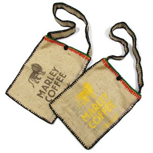【JAMAICA GOODS】JUTE SHOULDER BAG / MARLEY COFFEE