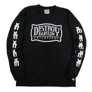 "【DUPPIES】LONG SLEEVE TEE SHIRTS ""MILITIA MODE"""