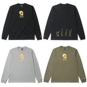 【Back Channel】ZIG ZAG LONG SLEEVE T / LAST M