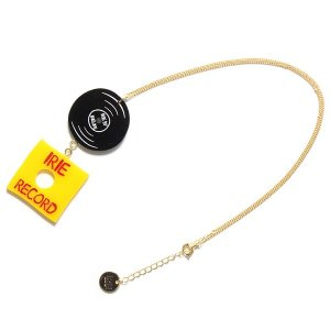 【IRIE by irielife】IRIE RECORD NECKLACE -IRIE for GIRL-