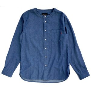 【ANDSUNS】NO COLLAR SUNS SHIRT