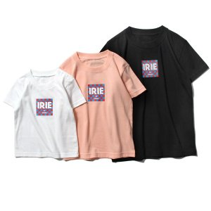 【IRIE by irielife】CHECKER FLAG LOGO KIDS TEE / KIDS,BABY