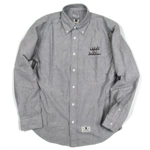【DUPPIES】BUTTON DOWN SHIRTS L/S / LAST L