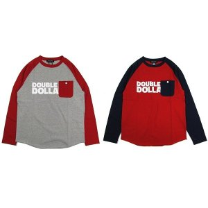 【ANDSUNS】MY DOLLARS RAGLAN / LAST RED
