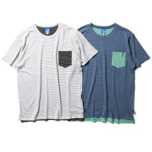 【IRIE LIFE】2FACE POCKET TEE / LAST WHITE L