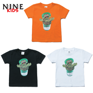 【NINE RULAZ】MEDICAL MONSTER TEE / KIDS,BABY / LAST BLACK 90