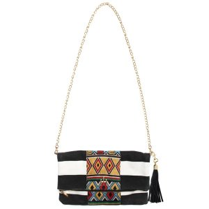 【Tome2H】AFRICAN&BORDER 2 WAY BAG / LAST 1