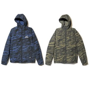 【Back Channel】GHOSTLION CAMO HOODED JACKET