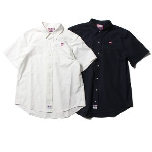 【IRIE by irielife】IRIE PAISLEY JAQUARD SHIRT / LAST NAVY L