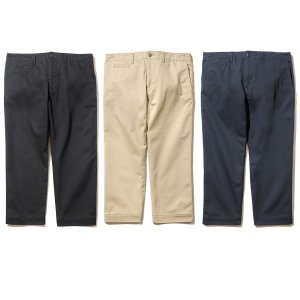 【Back Channel】CROPPED CHINO PANTS