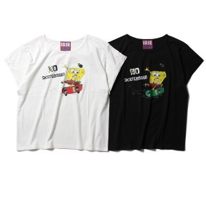 【IRIE by irielife】× SPONGE BOB SKATEBOAD GIRL TEE -IRIE for GIRL-