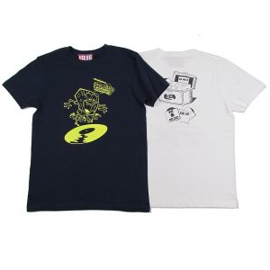 【IRIE by irielife】× SPONGE BOB RECORD GIRL TEE -IRIE for GIRL- / LAST WHITE