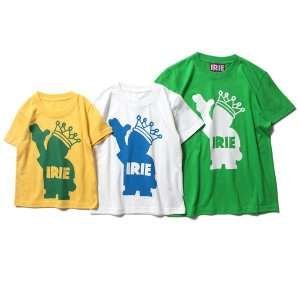 【IRIE by irielife】POW KING KIDS TEE / KIDS / LAST GREEN 110