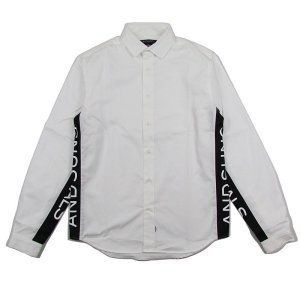 【ANDSUNS】IMMORTALS SHIRT / LAST WHITE  L