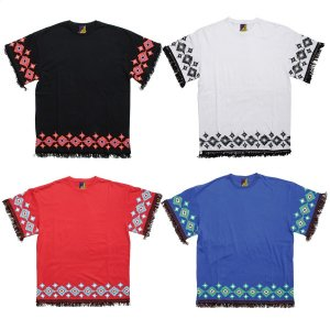 【Tome2H】NATIVE FRINGE T-SHIRT