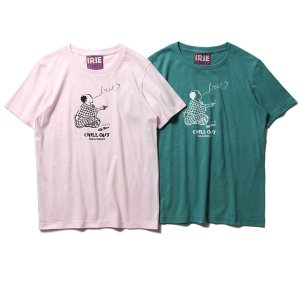 【IRIE by irielife】CHILL OUT GIRL TEE -IRIE for GIRL- / LAST Lt. PINK
