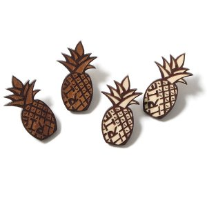 【IRIE by irielife】IRIE PAINAPPLE WOOD PIERCED -IRIE for GIRL-