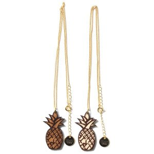 【IRIE by irielife】IRIE PAINAPPLE WOOD NECKLACE -IRIE for GIRL-