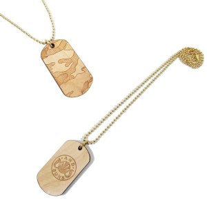 【ANDSUNS】× WOODLUM WOODSUNS DOG TAG / LAST  NATURAL