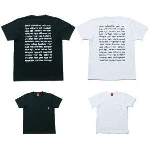 【NINE RULAZ】MESSAGE POCKET TEE