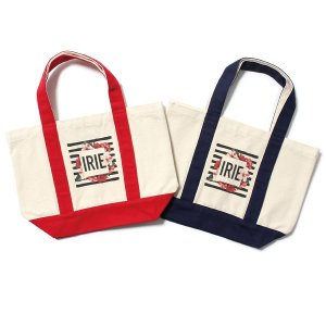 【IRIE by irielife】BORDER FLOWER TOTE BAG (S)
