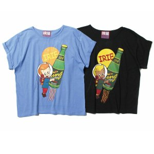 【IRIE by irielife】IRIE TING GIRL TEE -IRIE for GIRL- / LAST BLACK