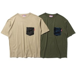 【IRIE by irielife】CAMO DOUBLE POCKET BIG TEE<img class='new_mark_img2' src='//img.shop-pro.jp/img/new/icons5.gif' style='border:none;display:inline;margin:0px;padding:0px;width:auto;' />