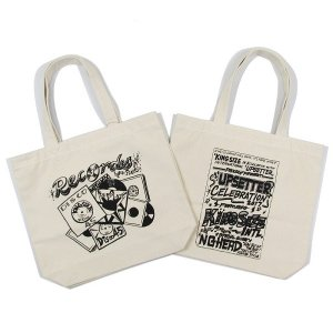 【KINGSIZE】RECORDS UPSETTER TOTE BAG