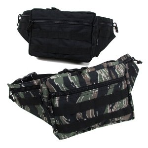 【DUPPIES】MILITIA WAIST POUCH / LAST TIGER STRIPE