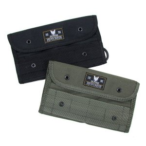 【DUPPIES】MILITIA WALLET / LAST BLACK