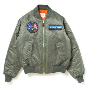 【APPLEBUM】MA-1 FLIGHT JACKET / LAST L