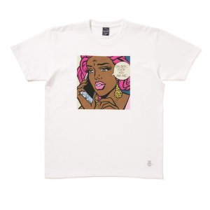 "【APPLEBUM】""FUCK YOU PAY ME"" T-SHIRT / LAST WHITE M"