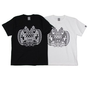 "【DUPPIES】SHORT SLEEVE T-SHIRTS ""2FACE EAGLE"""