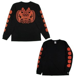 "【DUPPIES】LONG SLEEVE T-SHIRTS ""2FACE EAGLE"""