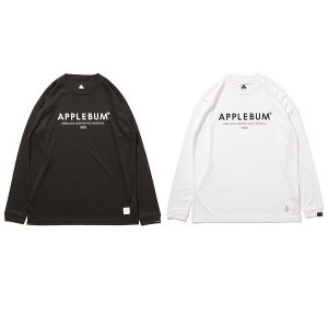 【APPLEBUM】ELITE PERFORMANCE DRY L/S T-SHIRT / LAST BLACK XL