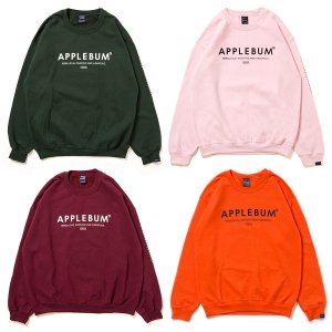 【APPLEBUM】CUBE LOGO CREW SWEAT