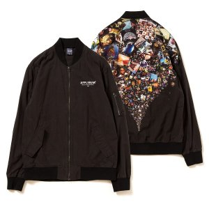 "【APPLEBUM】""SAMPLING SPORTS"" LIGHT MA-1 JACKET / LAST M"