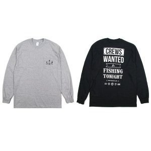 【IRIE FISHING CLUB】I.F.C CREWS WANTED L/S TEE