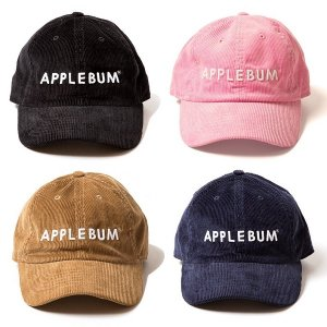 【APPLEBUM】APPLEBUM CORDUROY CAP / LAST PINK