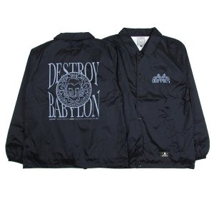"【DUPPIES】NYLON COACH JACKET ""DBP ONE"""