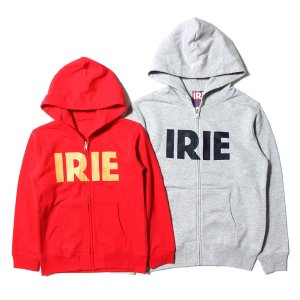 【IRIE by irielife】IRIE LOGO KIDS ZIP HOODIE / KID'S