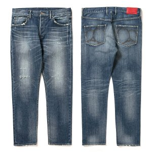 "【APPLEBUM】""KATE"" SLIM STRETCH DENIM PANTS (DAMAGE) / LAST 34"