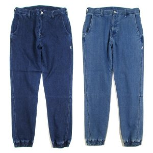 【ANDSUNS】SUNS BRAINS DENIM JOGGER