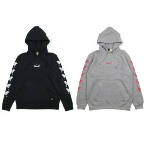 【Tome2H】BUTTERFLY HOODY / LAST BLACK