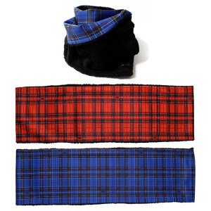 【Tome2H】CHECK REVERSIBLE SNOOD