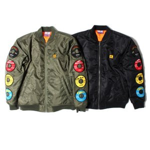【IRIE by irielife】RECORD LABEL QUILTING JACKET