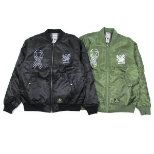 "【DUPPIES】MA-1 JACKET ""DINAEAGLE&BABYLONIA"""