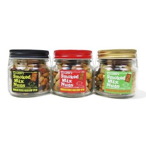 "【MUNCHIE FOODS】SMOKED MIX NUTS ""REGULAR BOTTLE"" (145g)"
