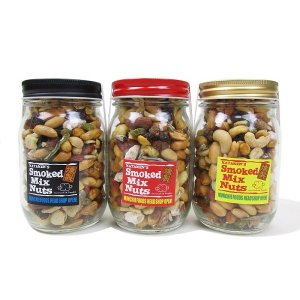 "【MUNCHIE FOODS】SMOKED MIX NUTS ""LONG BOTTLE"" (245g)"